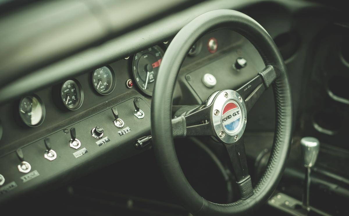 Beautiful Dashboard Ford Gt